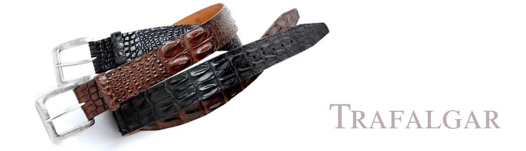 Trafalgar Crocodile Belt