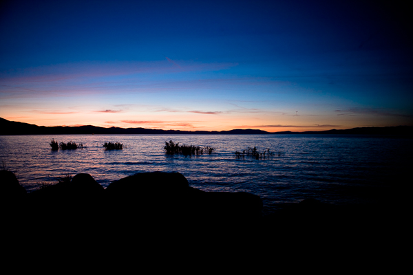 Round Magazine - Lake Tahoe at dusk