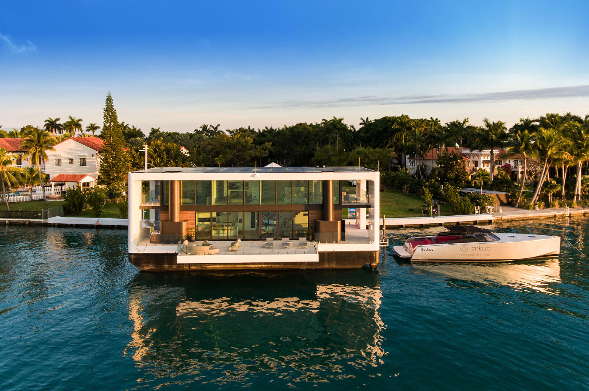 Arkup Floating Mansion