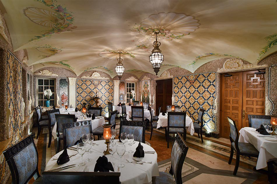 The restaurant at Casa Casuarina is Gianni's and you can view the pool area and othe parts of the ground floor.