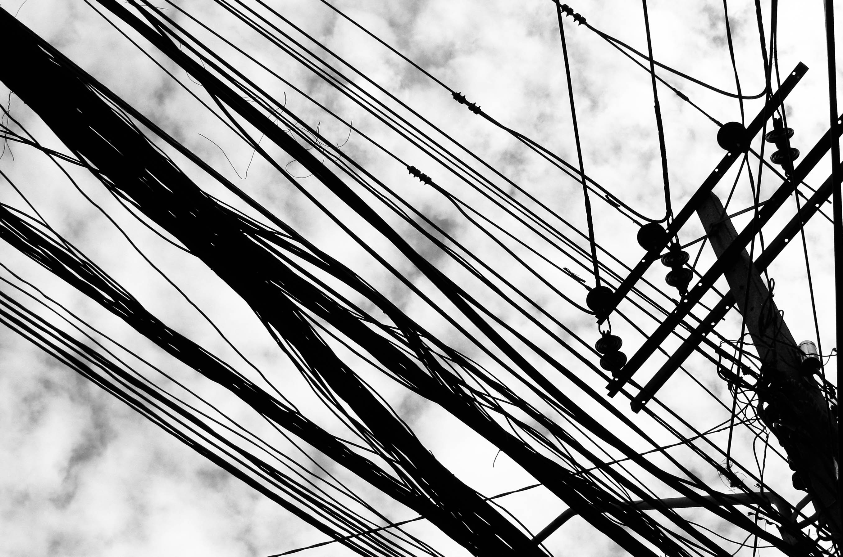Bangkok overhead wires